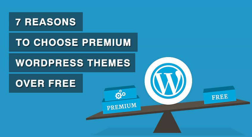 premium WordPress theme over Free