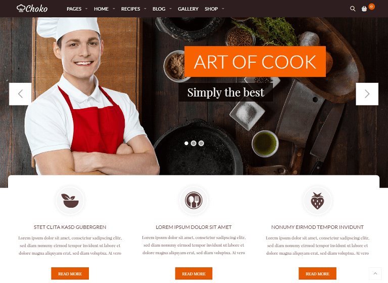 25 Best WordPress Food Themes of 2017 RaraThemecom