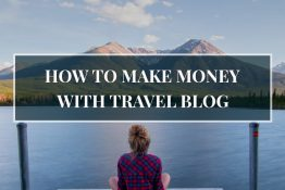 how to make money with travel blog
