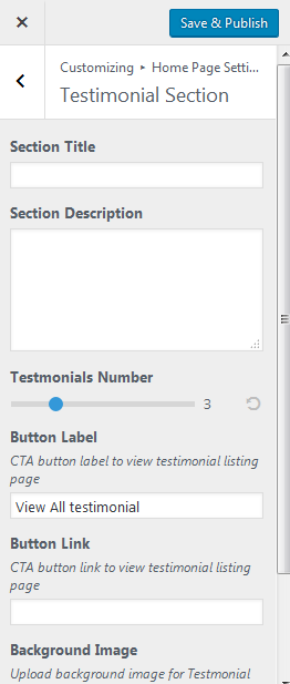 testimonial section configure.png