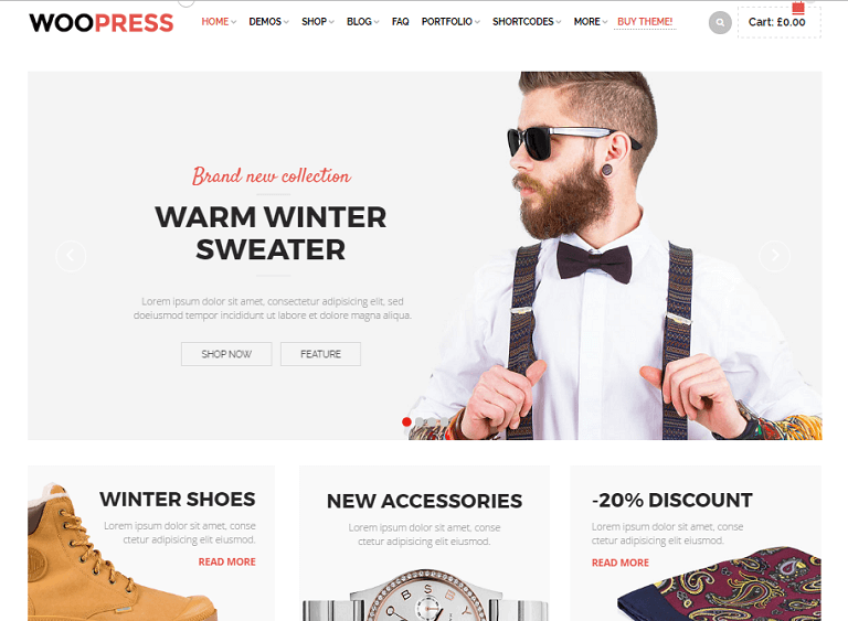 25+ Best eCommerce WordPress Themes of 2017 - RaraTheme.com