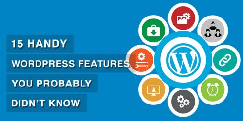 15 Handy WordPress Features You Probably Didn't Know
