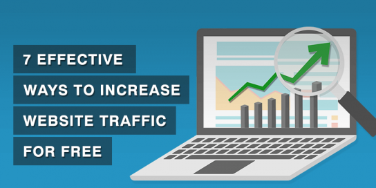 7 Effective Ways to Increase Website Traffic For Free