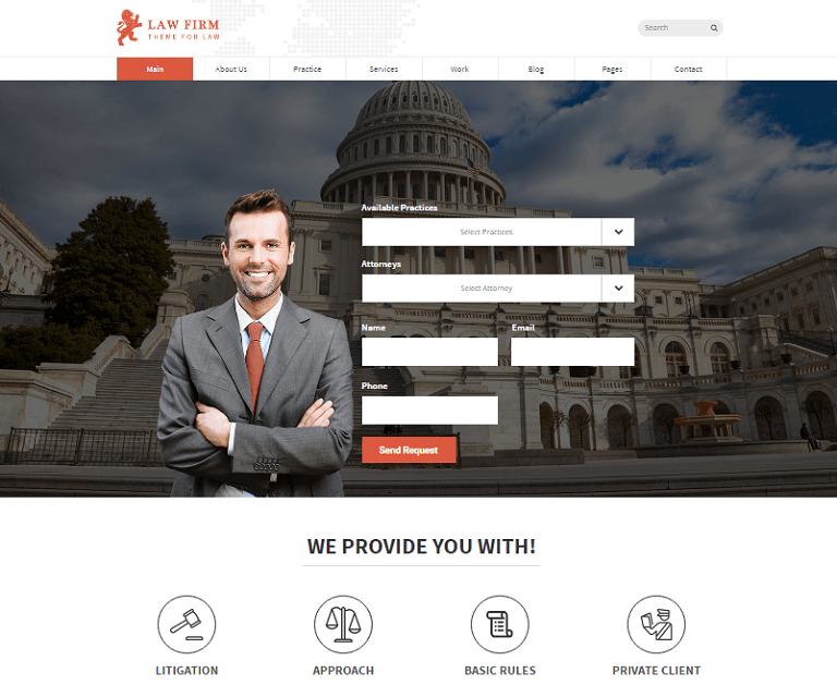 25+ Best Lawyer and Law Firm WordPress Themes 2017 - RaraTheme