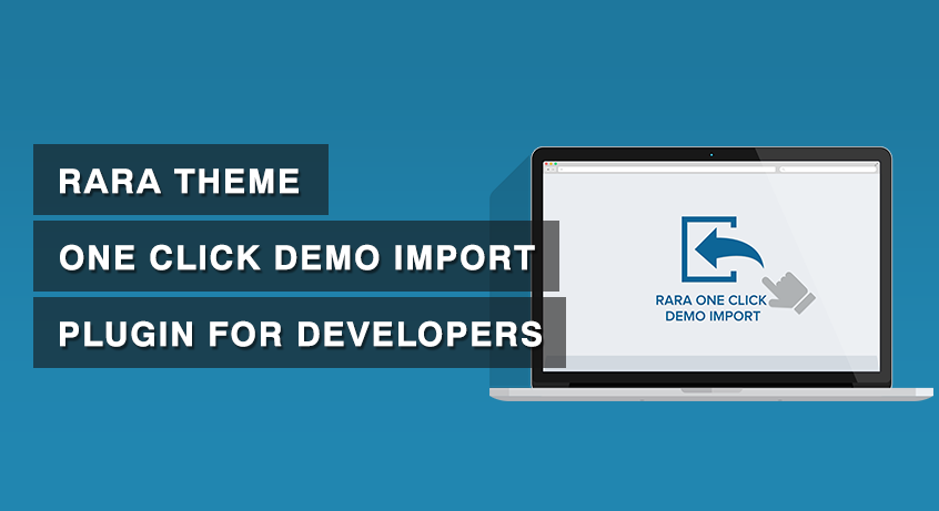 One click demo import content