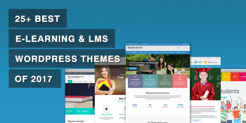 25+ Best e-Learning & LMS WordPress Themes of 2019
