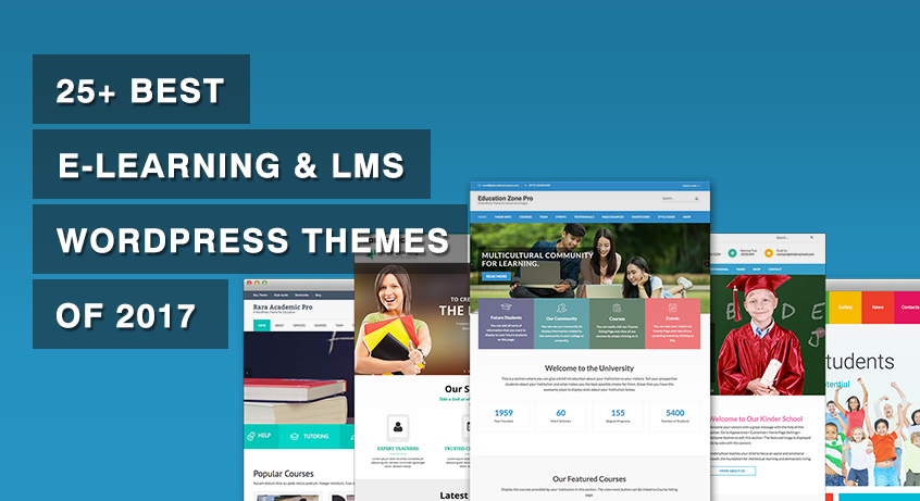 25+ Best e-Learning & LMS WordPress Themes of 2017