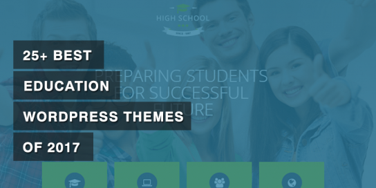 25+ Best Education WordPress Themes of 2019
