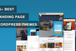 best landingpage WordPress themes