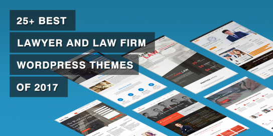 25+ Best Lawyer and Law Firm WordPress Themes of 2019