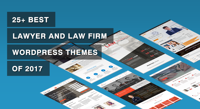 25+ Best Lawyer and Law Firm WordPress Themes of 2017