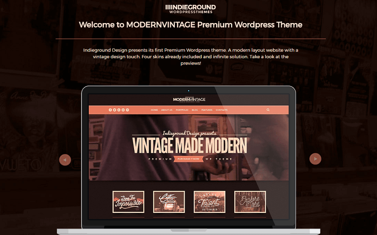 25+ Best Vintage and Retro Style WordPress Themes - Rara Theme Blog