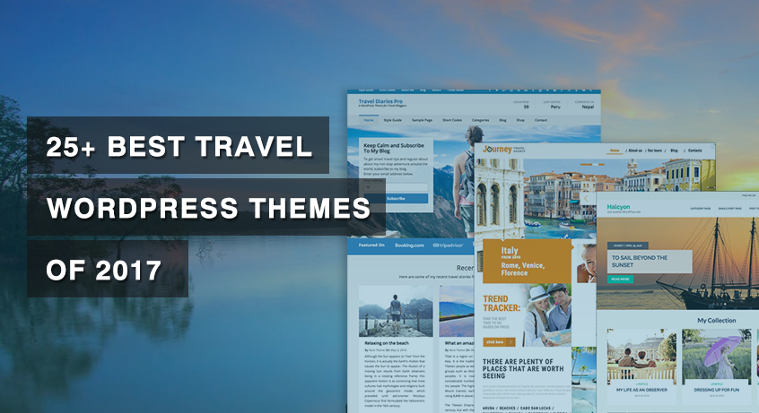 25+ Best Travel WordPress Themes of 2019