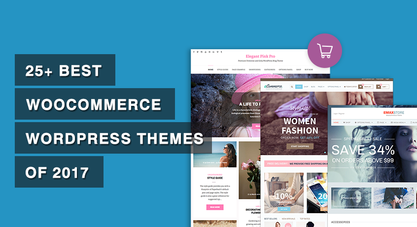 25+ Best WooCommerce WordPress Themes of 2017