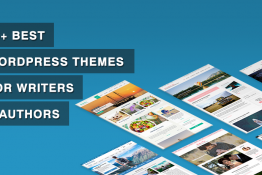 Best WordPress Themes for Writers & Authors