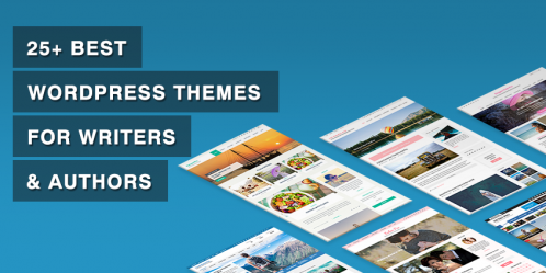 25+ Best WordPress Themes for Writers & Authors
