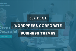 Best WordPress Corporate Business Themes