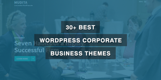30+ Best WordPress Corporate Business Themes