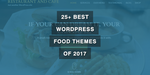 25+ Best WordPress Food Themes of 2019