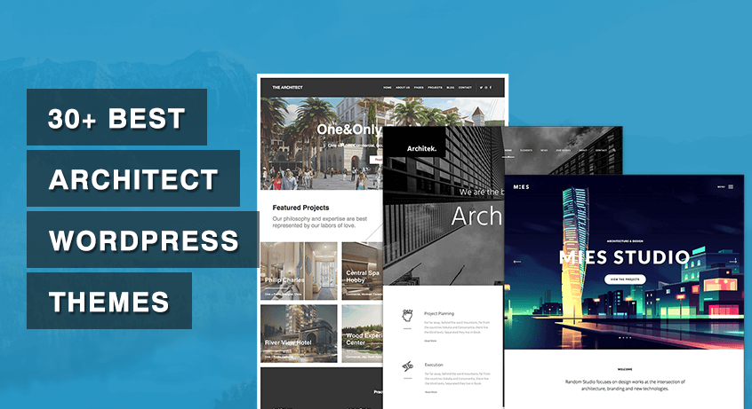 30+ Best Architect WordPress Themes