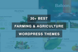 Best Farming & Agriculture WordPress Themes
