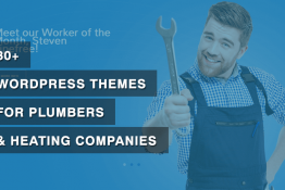 WordPress Themes for Plumbers & Heating Companies