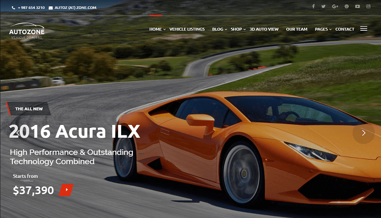 30+ Best Car & Automotive WordPress Themes - Rara Theme Blog