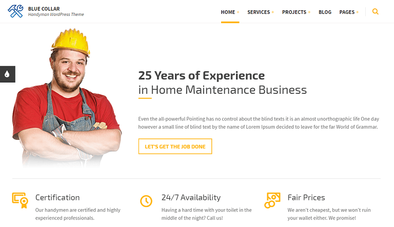 30+ WordPress Themes for Plumbers & Heating Companies - Rara Theme Blog