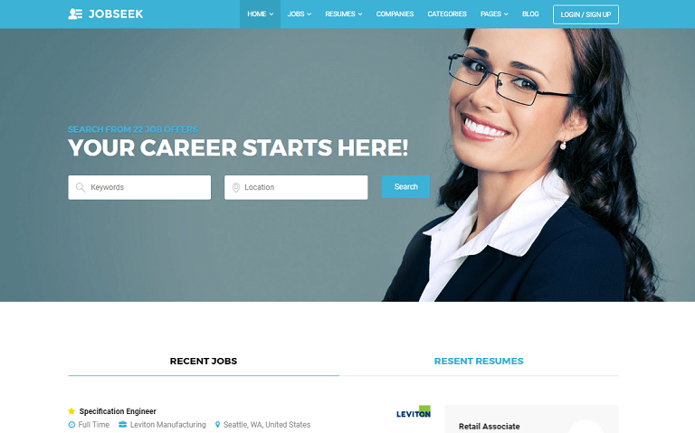 30+ Best Job Board WordPress Themes 2017 - Rara Theme Blog