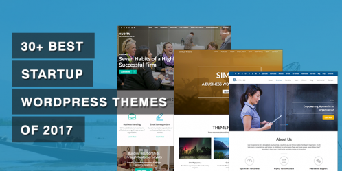 30+ Best Startup WordPress Themes of 2019