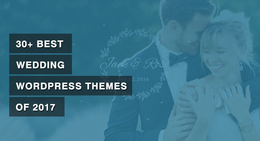 30+ Best Wedding WordPress Themes of 2017