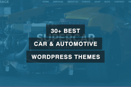 Best Car & Automotive WordPress Themes