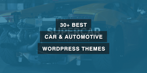 30+ Best Car & Automotive WordPress Themes