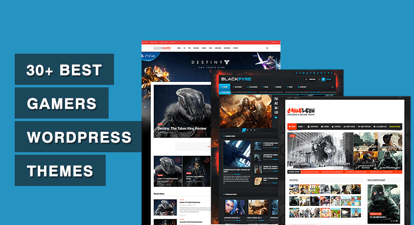Best Gamers WordPress Themes