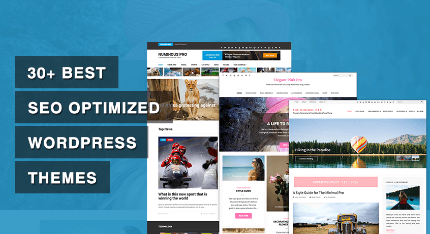 30+ Best SEO Optimized WordPress Themes