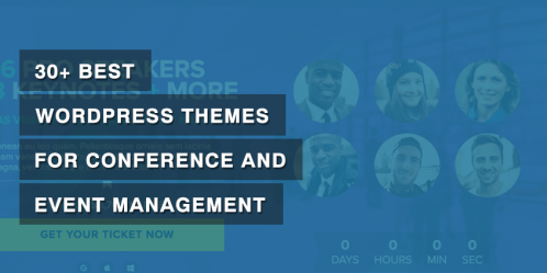 30+ Best WordPress Themes for Conference and Event Management