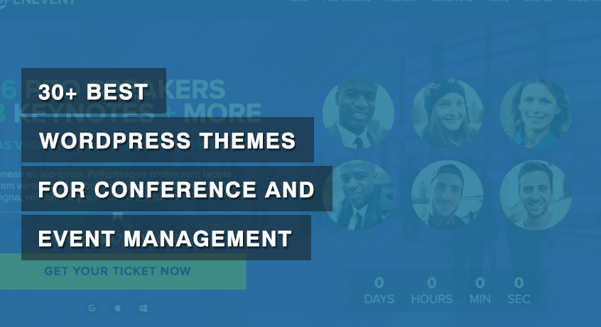 Best WordPress Themes for Conference and Event Management