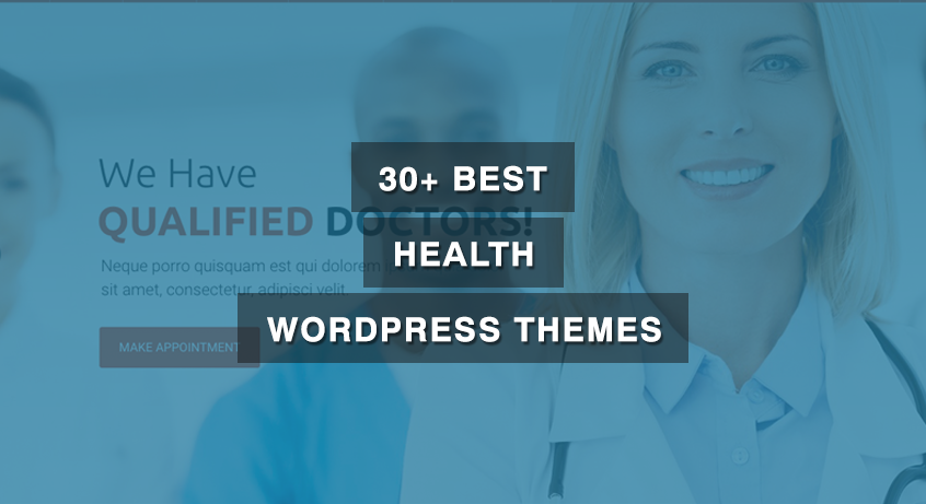 30+ Best Health WordPress Themes