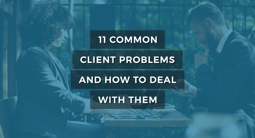 clinets problems and how to deal WordPress