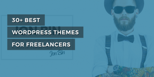 30+ Best WordPress Themes for Freelancers