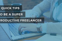 become a highyl productive work home freelancer