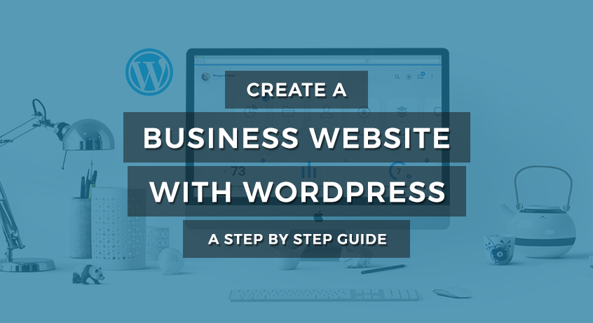 Create Business Website with WordPress