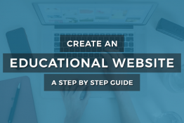 how to create Educational or school WordPress website