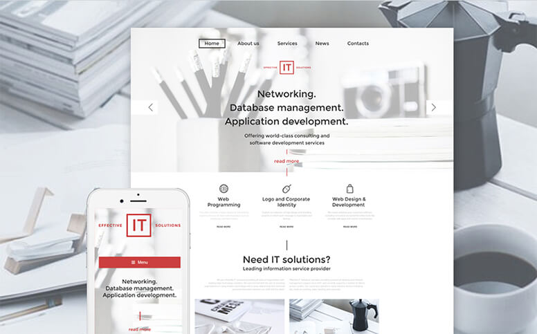 Effective IT Solutions - Responsive WordPress Theme