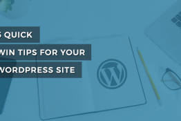 Tips for WordPress website