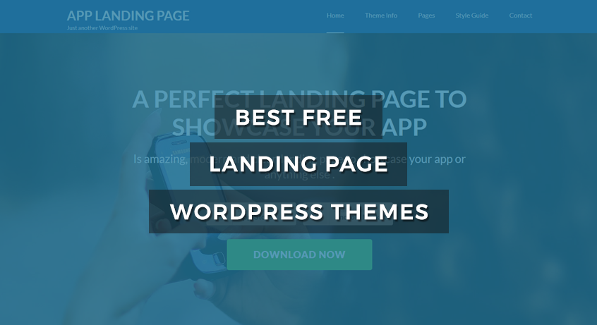 35+ Best Free Landing Page WordPress Themes of 2017
