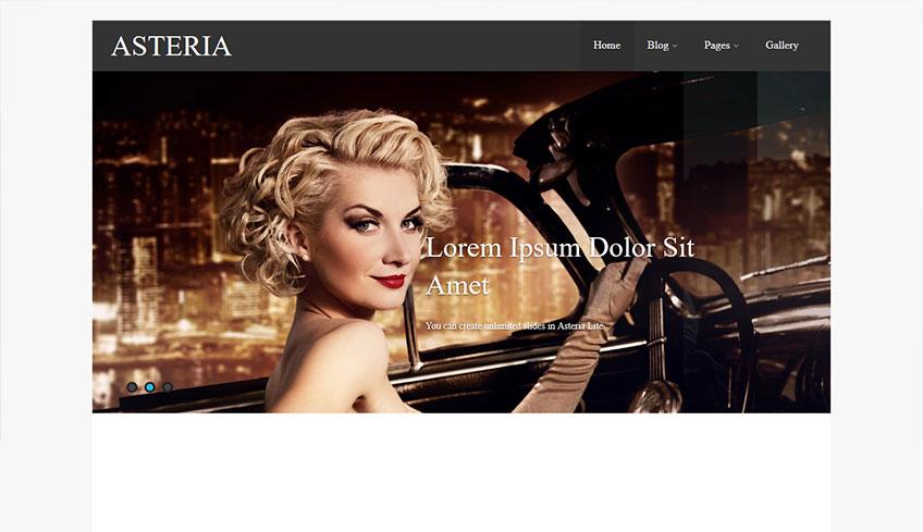 Asteria Lite Free WordPress Theme