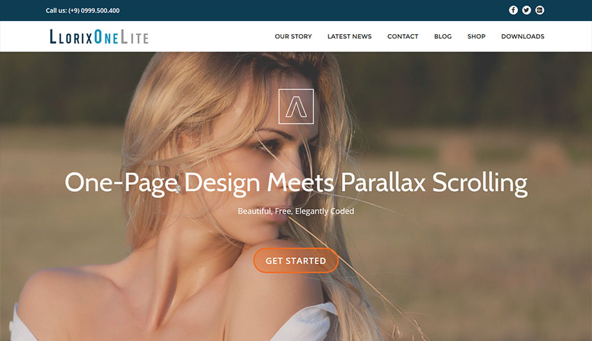 LLorix-One-Lite Free WordPress Theme