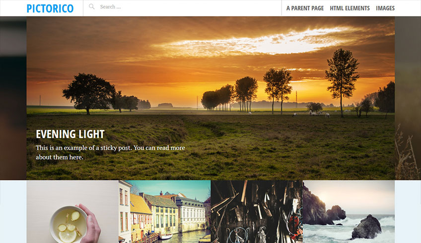 Pictorico Free WordPress Theme